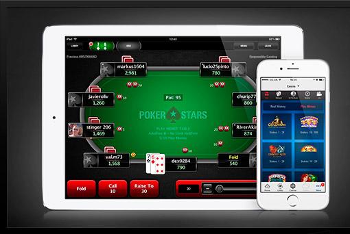 Poker star mobile